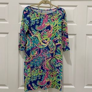 Lilly long sleeve cotton dress